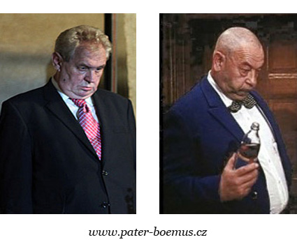 Praotec Čech, pater Boemus, Zeman, Hlinomaz Josef, humoristický vzdělávací časopis