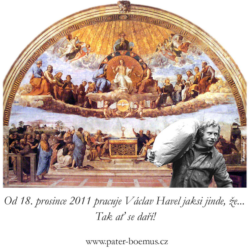 Pater Boemus, humoristický vzdělávací magazín, Wavrovský, Společnost bratranců Veverkových, Havel přikuluje, krátké kalhoty