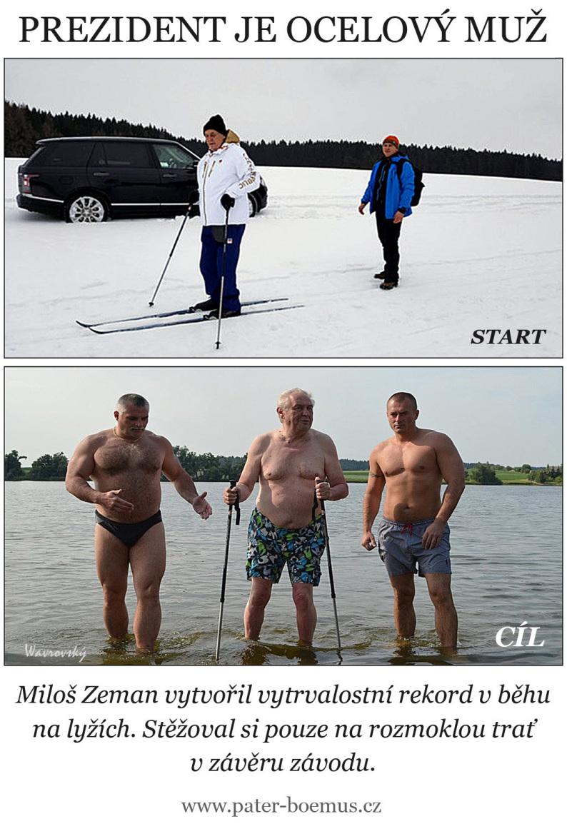 Pater Boemus, humoristický vzdělávací magazín, Wavrovský, Společnost bratranců Veverkových, Zeman má prostatu jako panic, Zemanovo zdraví, Zeman na běžkách, Zeman u rybníka