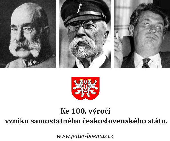 Pater Boemus, humoristický vzdělávací magazín, Wavrovský, Společnost bratranců Veverkových, sto let republiky, nějak se to zvrtlo
