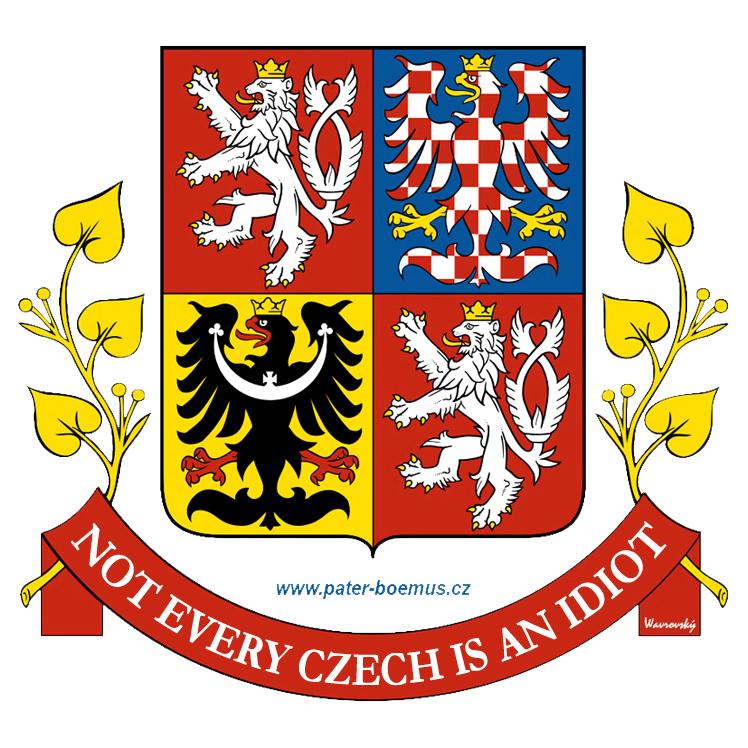 Pater Boemus, humoristický vzdělávací magazín, Wavrovský, Společnost bratranců Veverkových, Každý Čech není idiot, Not every Czech is an idiot