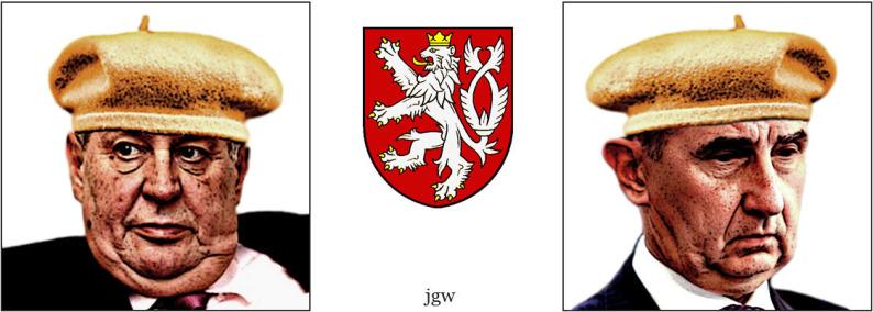 Pater Boemus, humoristický vzdělávací magazín, Wavrovský, Společnost bratranců Veverkových, český lev se dvěma ocasy, onuce a trtko
