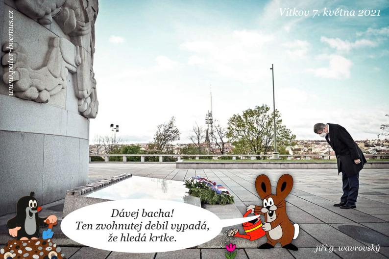 Pater Boemus, humoristický vzdělávací magazín, Wavrovský, praotec Čech, Národní památník na Vítkově, šmelinář