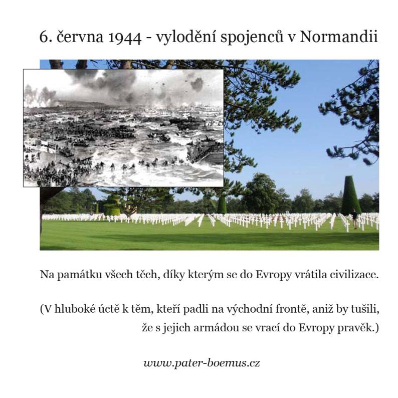 Vylodění v Normandii, pater Boemus, Wavrovský, 6 června 1944
